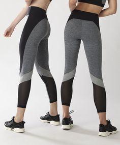 Legging cortes grises