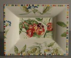 NEW Rectangular Dish Cherry Pattern From GIEN