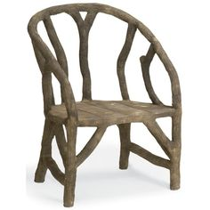 Currey and Company Arbor Chair
