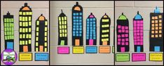 Arrays: Array Cities a cute Idea for practicing arrays, repeated addition, and beginning multiplication! (The Owl Teach)