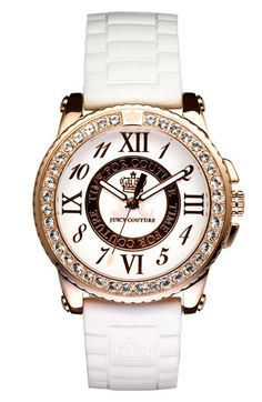 I am in love with juicy couture watches right now.This is one of my favorites :)