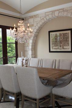 dining room transitional dining room