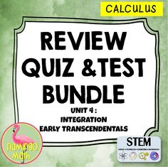 In this bundled set you will find all you need to prepare your AP Calculus AB, Calculus BC, Calculus Honors, or Calculus 1 students for a better understanding of INTEGRATION. Over 60 pages of rigorous review and assessments for all you teaching needs.