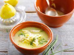 Soupe de poulet au citron, facile et pas cher