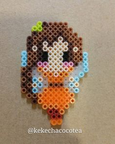 Fawn perler beads by kekechacocotea
