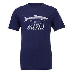 Vegan Clothing - Vegan Shirt - I'm not Sushi