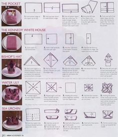 Some folding techniques