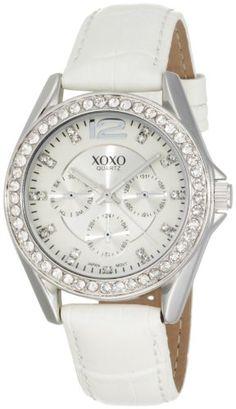 XOXO Women's XO3186 Rhinestone Accent Dial White Crocodile Strap Watch XOXO,http://www.amazon.com/dp/B003DIPA7Y/ref=cm_sw_r_pi_dp_nKc8rb1J79C8WHF4