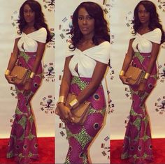 Online Hub For Fashion Beauty And Health: Lovely Straight Ankara Long Skirt For The Cuties