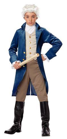 Thomas jefferson costume ideas google search diy pinterest childs founding father costume george washington thomas jefferson candy apple costumes new solutioingenieria Gallery
