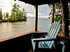 Perfect Seat Overlooking Lake