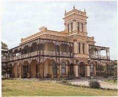 Eynesbury House 1880 by George Wilcox - SA Historical Archaeology Database Old Mansions, Mansions Homes, Australian Architecture, Australian Homes, Victorian Architecture, Classical Architecture, Old Houses, Huge Houses, American Houses