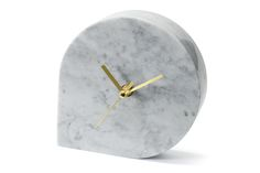 "GET 15% DISCOUNT IF YOU USE ""SPRINGSALE"" DISCOUNT CODE IN CHECKOUT! These stunning desk clocks are designed and crafted out of top quality marble, with exquisite and stylish brass hands. The shape and style of the marble table clock are Scandinavian, the timepiece is bold and beautiful, and this is a modern desk clock that will look good in a lounge, entrance hall, study or office. A marble desk clock is elegant, sophisticated and practical too. If you are looking for a modern desk clock… Modern Clock, Modern Desk, Marble Desk, Desk Clock, Marble Pattern, Decorative Items, Scandinavian, Elegant Sophisticated, Table"
