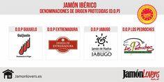 Denominaciones de Origen Protegidas Jamón Ibérico #jamonlovers #jamoniberico