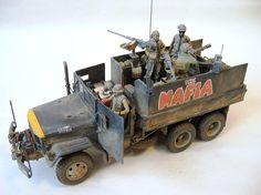 Gun truck the mafia