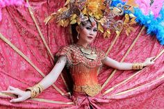 Crazy Costumes Photo by Sandi Yanto -- National Geographic Your Shot