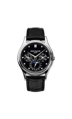 a0db53979 Patek Philippe Grand Complications Moonphase 37mm Platinum Watch 5140P-013  Patek Philip Watch for Men