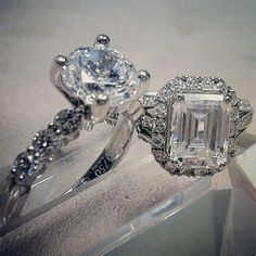 #Precisionset #diamond #engagementrings on #hydeparkjewelers #instagram