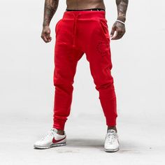 Live Fit. Apparel — Jogger Sweat Pants - Red