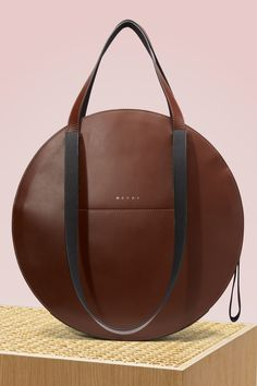 MARNI Tambourine Leather Bag. #marni #bags #shoulder bags #hand bags #leather #