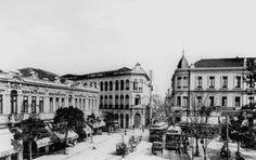 Largo de São Bento. São Paulo – c. 1905. Guilherme Gaensly - Arquivo de Negativos. DIM/ DPH/ SMC/ PMSP.