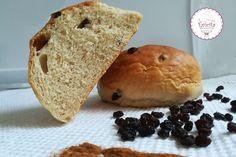σταφιδόψωμο Healthy Biscuits, Stevia, Hamburger, Bread, Cooking, Desserts, Food, Cakes, Healthy Cookies