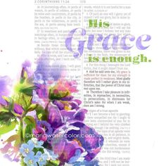 2Cor.12:9 9 And he said unto me My grace is sufficient for thee: for my strength is made perfect in weakness. #verseoftheday