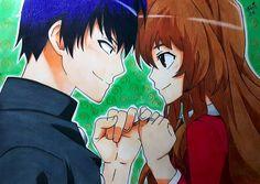 Toradora! I love so much this anime so i did a little draw! :)