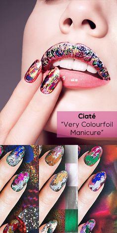 Lançada pela marca de esmaltes Ciaté, a nova tendência esmaltística é a unha foil, que possui efeito craquelado, metálico e colorido, tudo ao mesmo tempo!  Vem saber mais sobre ela: http://www.zunck.com/blog/index.php?id=86