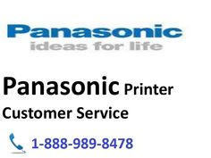 Get BEST #Tech Support for #Panasonic #Printer specialized issues like: #printer not living up to expectations #printer not uniting #printer not reacting #printer not printing #printer establishment #printer continues continuing restarting, and so forth.  Place a call @ 1-888-989-8478 #Panasonic printer toll free telephone number.More info: http://printercustomersupport.com/panasonic-printer-support.php