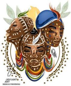 DeviantArt is the world's largest online social community for artists and art enthusiasts, allowing people to connect through the creation and sharing of art. Orisha, Religion In Africa, Black Love Art, Park Landscape, Black Artwork, Deviantart, Beautiful Artwork, African Art, Female Art
