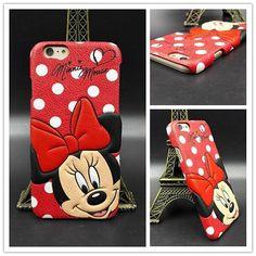 Micky Mouse PU Phone Case.