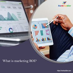 Marketing ROI is a measure of profit or revenue that you get after running your marketing campaign. Abbreviated for return on investment, ROI also helps in defining marketing budgets, measuring campaign success, and creating out competitive analysis. What Is Marketing, Marketing Budget, Digital Marketing Services, Seo Services, Search Optimization, Custom Website Design, Competitive Analysis, Marketing Techniques