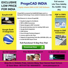ProgeCAD 2017 Professional only for (life-time) Software Sales, Cad Software, Engineering, Technology, Life, Tech, Tecnologia