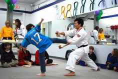 Invite the birthday party kids to your local Karate Class.Karate Birthday Party for kids.