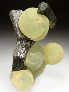 PREHNITE and EPIDOTE Minerals from Djouga Diggings, Bendoukou, Region De Kayes, Mali, Africa at Crystal Classics