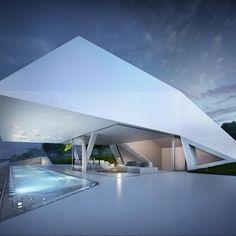 10 Casas futuristas que te asombrarán #arquitectura #diseño #futurismo #inspiración #futuro #moderno