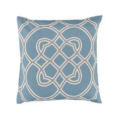 Artisan Weaver Orbe Decorative Pillow - 18'' x 18'', Blue