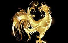 Les Golden Cockerel images, fonds d'écran d'abstraction, de milieux de clinquant