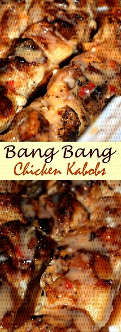 #chicken #kabobs #bang #382 ★★★★★ 382 / Bang Bang Chicken Kabobs Bang Bang Chicken KabobsYou can find Chicken kabob recipes and more on our website.★★★★★ 382 / Bang Bang Chicken Kabobs Bang Bang Chicken Kabobs Chicken Kabob Recipes, Chicken Kabobs, Bang Bang Chicken, Meat, Food, Essen, Meals, Yemek, Chicken Kebab