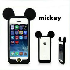 Nwot Mickey Mouse Ears Iphone 5s Pink Border