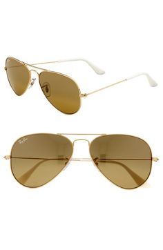 Ray-Ban 'Original - Small Aviator' 55mm Sunglasses available at #Nordstrom