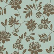 flower pattern black and white flocked wallpaper Flock Wallpaper, Feature Wallpaper, Do Anything, Flocking, Contemporary, Modern, Flower Patterns, Trail, It Is Finished