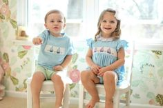 The Best Online Shops for Dressing Southern Tots: Smocked Threads by Cecil and Lou