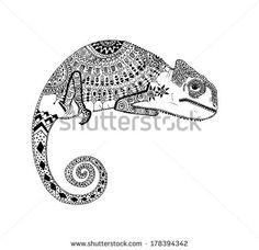 chameleon tattoo - Buscar con Google