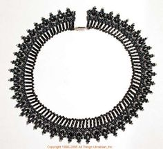 Ukrainian Gherdany Beadwork  # 05-6061 handmade in Ukraine. Originally sold on http://www.allthingsukrainian.com/Jewelry/index.htm