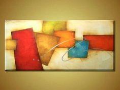 tela flores pintura moderna - Pesquisa Google
