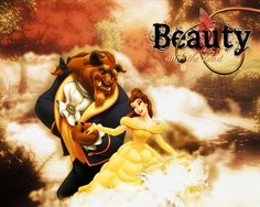 Blurred beauty and the beast- disney-princess Wallpaper
