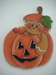 Pumpkin GB magnet