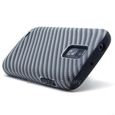 Click Image to Browse: $9.95 V2 Carbon Double Layer Hard Case Gel Cover For Samsung Galaxy S2 (Hercules T989) T-Mobile